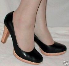 Hot! NEW BLACK CLASSIC VINTAGE 40s BABY DOLL SHOES  8.5