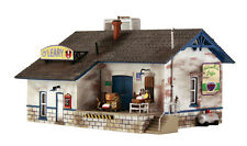 """HO Scale: """"O'LEARY DAIRY DISTRIBUTION"""" - Pre-Fab Landmark Structure-Woodland"""