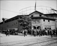 League Park #1 Photo 8X10 - 1905 Cleveland Indians B&W - Buy Any 2 Get 1 FREE