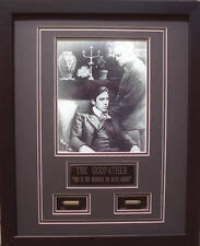 THE GODFATHER PACINO BRANDO WITH BULLETS FRAMED 16X20