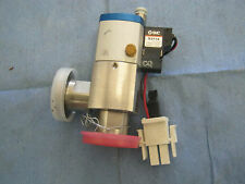 Pfeiffer Model:  EVI 105 P Mini Angle Valve with Control Valve.  Bellows-sealed<