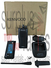 NEW KENWOOD PROTALK TK-3400U4P 4CH UHF 2W BUSINESS RADIO WAREHOUSE OFFICE BAR
