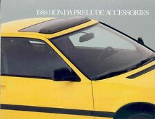 1988 Honda Prelude Accessories Brochure mx2532-BZG3FJ