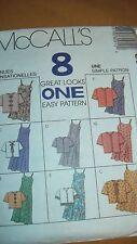 McCall's 8091 Children's & Girls' Slipdress in two lengths 4,5,6