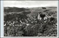 SCHWARZENBERG Erzgebirge Sachsen DDR Postkarte Panorama Gesamtansicht ungelaufen