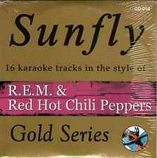 Sunfly Karaoke Gold (SFGD054) - REM & Red Hot Chili Peppers