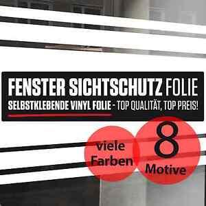 Sichtschutz Folie Streifen farbig Glas Dekoration blickdicht Fenster #S91