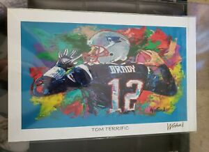 "Tom Brady 11""x17"" Winford Print Signed By The Artist COA"