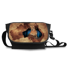 Shoulder Bag - Kangaroo Image - Padded with lots of Compartments - High Quality