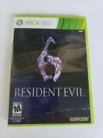 Resident Evil 6 (Microsoft Xbox 360, 2012) Tested And Works Great
