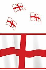 England St. George cross Plastic table cover (137 x 213cm)