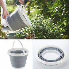 Portable Folding Silicone Buckets Car Wash Outdoor Camping Cleaning Supplies