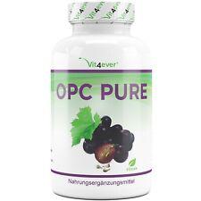 OPC Pure - 300 Kapseln Vegan  OPC - Traubenkernextrakt - Laborgeprüft Premium!