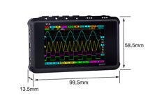 Black Pocket Sized Digital Oscilloscope Metal Handheld Scope DS213 DS 213 Nano A
