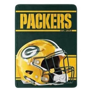 NFL Football - Plush Throw Blanket - Green Bay Packers (RUN)