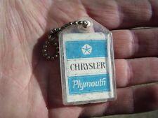 Vintage original nos MOPAR Key accessory case Chrysler auto parts dodge plymouth