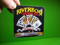 RIVERBOAT GAMBLER Pinball Machine Original NOS Plastic PROMO Key Chain WILLIAMS