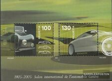 Suisse Bloc 38 (complète edition) neuf avec gomme originale 2005 automobile-salo