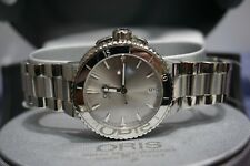 Oris Aquis Date Stainless Steel Women's Watch **REDUCED PRICES**