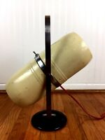 Vintage Lamp Mid Century Space Age Atomic Steam Punk Brutalist Westinghouse