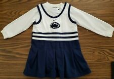"""GIRLS SIZE 2T """"PENN STATE"""" CHEERLEADING OUTFIT-EUC-NIKE"""