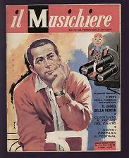 MUSICHIERE 9/1959 PERRY COMO CLAUDIO VILLA NILLA PIZZI GIORGIO CONSOLINI JAZZ