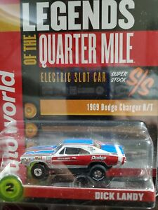Autoworld Dick Landy 1969 dodge charger Legends Of The Quarter Mile new in cube