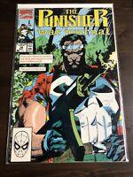 The Punisher War Journal #18 Marvel Comics May 1990 VF Jim Lee Art Direct