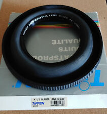 TIFFEN PROFESSIONAL RUBBER LENS SHADE COLLAPSIBLE HOOD 4 1/2 INCH NIB 193306