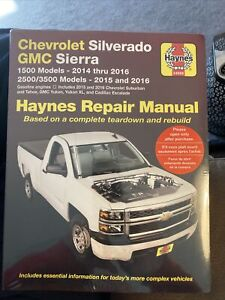 Repair Manual Haynes 24068 Chevrolet Silverado GMC Sierra 1500 2500 3500 Models