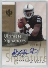 2007 Ultimate Collection Gold Parallel /50 JaMarcus Russell #US-JR Rookie Auto