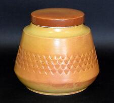 Vintage Diana Pottery 'Nefertiti' Biscuit / Lolly Jar Australian Stoneware U202