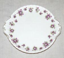 Royal Albert Sweet Violets Bone China 10.3 inch Handles Cake Plate