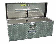 Universal ATV Tool Box Aluminum Storage Tote Utility Storage Trailer Chest Case