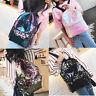 Womens Girl Sequins Backpack Glitter Bling Rucksack Fashion Shoulder School Bag