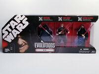 Star Wars Evolutions The Sith Darth Maul Count Dooku Emperor Palpatine NIB Rare