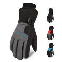 Men Winter Warm Snow Ski Gloves Waterproof Anti-Slip Motorcycle Outdoor Riding