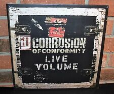 CORROSION OF CONFORMITY - Live Volume, Limited Import 2LP CLEAR VINYL Gatefold