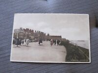 1920s Kent postcard - Promenade - Cliftonville - Margate Thanet
