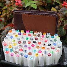 TOUCH5 Alcohol Graphic Design Art 80 Colors Broad Tips Marker Pen Architectur