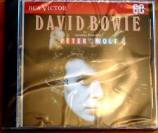Rare David Bowie narrates Peter and the Wolf Prokofiev CD RCA Victor SEALED