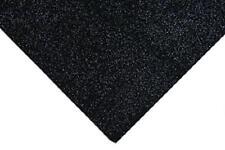 Black Acrylic Glitter Felt Fabric 23 x 30cm Crafts