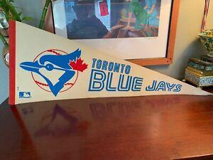 Vintage 1960's Toronto Blue Jays Pennant Flag Very Rare Baseball History