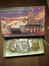 PANZERKAMPFWAGEN V Ausf G  KIT MONTAGGIO GUNZE SANGYO SCALA 1:35
