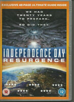 Independence Day: Resurgence (DVD, 2016) NEW