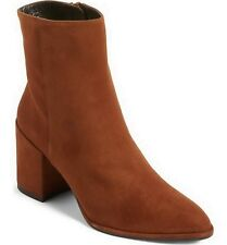 New in Box STUART WEITZMAN Notazzie Suede Bootie Shoes, Amaret, US 8
