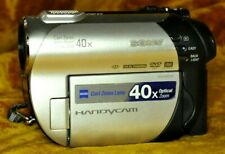 Sony DCR-DVD108 Camcorder W/ NEW AC Charger & Battery TESTED AND WORKING