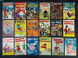 Lot of (18) Golden and Silver Age Comics (1951-78) Reader Copies