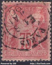 FRANCE TYPE SAGE N° 81 AVEC OBLITERATION DE PARIS