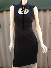 NWOT grey tweed pencil dress STELLA sz10 pinup rockabilly retro vintage 40s 50s